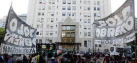 En plena cuarentena, marcha piquetera en Buenos Aires