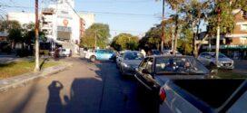 Masiva y ruidosa marcha de comerciantes en Resistencia [Ver Video]