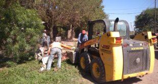"""Makallé: operativo """"descacharrado"""" en Barrio Villa Susana"""