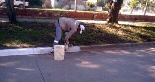 Makallé: continúa el plan integral de limpieza encarado desde el Municipio