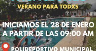 """Makallé: el jueves 28 de enero dará inicio la colonia de vacaciones """"Verano para Todos"""""""