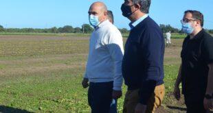Makallé: el intendente Marcelo Angione recibió al Gobernador Capitanich y ministros provinciales