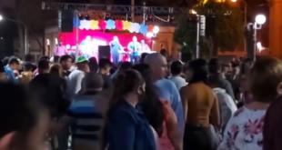 Makallé: multitudinario festejo por el día del niño organizado por la Municipalidad Local